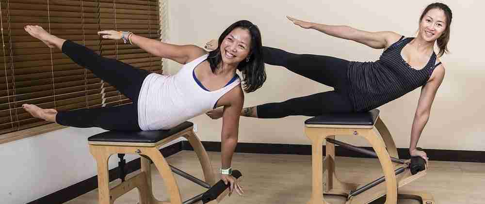 Pilates on Chair-slider