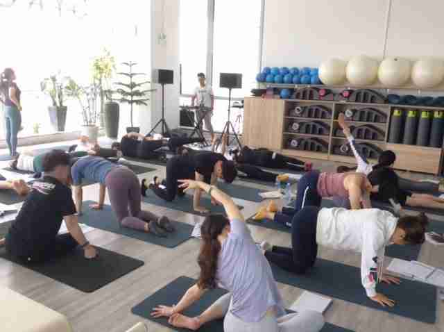 Pilates education - Mat courses in Asia